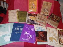 Miscellaneous vintage cookbook collection in Conroe, Texas
