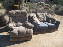 ==  Loveseat + Recliner  == in 29 Palms, California