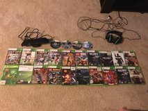 XBOX 360 w/24 games, headset, Kinect and 2 wireless controllers in La Grange, Texas