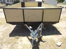 Utility trailer in Fort Bliss, Texas