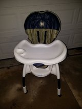 Graco / Navy Teddy Bear / Adjustable High Chair in Fort Campbell, Kentucky