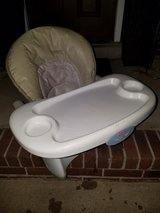 Fisher Price / Adjustable Space Saver High Chair in Fort Campbell, Kentucky