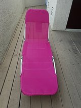 Excellent condition Lay Flat Beach Chaise  lounge in Camp Pendleton, California