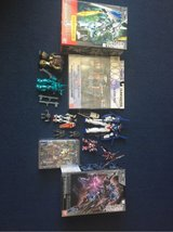 Gundam and other figures lot in Okinawa, Japan