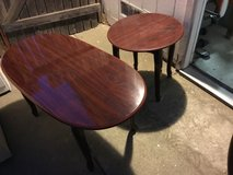 Cherrywood coffee table and side table in Vacaville, California