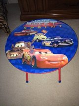 Cars Collapsable Table in Westmont, Illinois