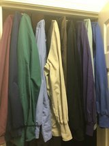 Women's XL Solid Scrub Jackets (10) in Fairfield, California