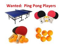 Ping Pong Players in San Diego, California