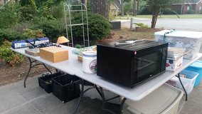 Yard sale in Byron, Georgia