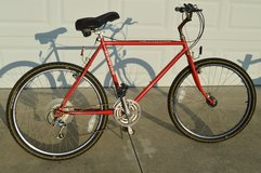 "Vintage 1985 Schwinn Sierra Red Mountain Bike 21"" Chrome-MolyFrame Model 4130 in Camp Lejeune, North Carolina"
