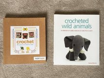 2 x crochet books in Lakenheath, UK