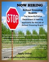 VUSD School Crossing Guard in Travis AFB, California