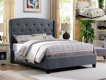 BRAND NEW! DESIGNER QUEEN TUFTED BEDFRAME! in Camp Pendleton, California