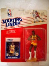 Starting Lineup Magic Johnson1988 Packaged never opened in Lake Elsinore, California