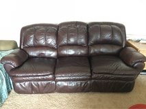 Leather sofa couch in Naperville, Illinois
