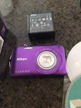 Nikon CoolPix S3300 purple camera in O'Fallon, Missouri