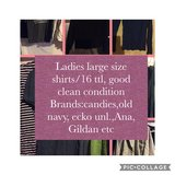 Ladies large size bundle in Fort Campbell, Kentucky