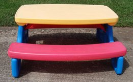 Little Tikes 6 Seat Picnic Table in Clarksville, Tennessee