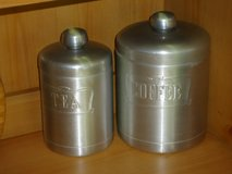 vintage coffee/tea canister set in Naperville, Illinois