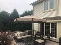 Huge Patio Umbrella: Treasure Garden 11 foot Cantilever in Brookfield, Wisconsin