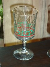 4 holly wine glasses in St. Charles, Illinois