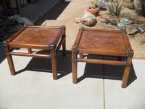 %%   2 X End Tables   %% in Yucca Valley, California