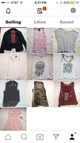 Tops, tank tops, t shirts in San Clemente, California