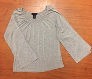 The Limited Grey Open Sleeve Top, Sz M in Fort Campbell, Kentucky
