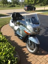 BMW motorcycle in Naperville, Illinois