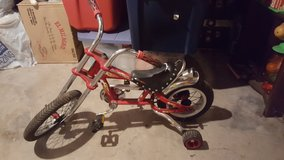 kids schwinn stingray chopper bicycle bike in Yorkville, Illinois