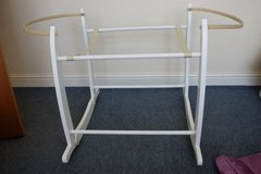 White Moses Basket Rocking Stand in Lakenheath, UK