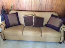 Great Couch, two chairs and queen size mattress. 425 for all in Plainfield, Illinois
