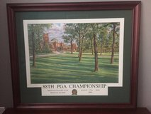 88th PGA Championship Poster Framed in Naperville, Illinois
