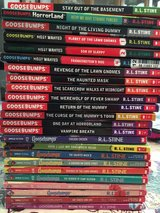 Goosebumps Books in Fort Campbell, Kentucky
