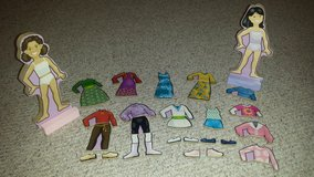 Need extra magnetic dolls/clothes?  Melissa & Doug 31 pieces! in Naperville, Illinois