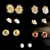 French earrings collection in Yucca Valley, California