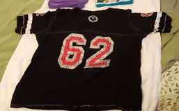 Catos Quarter Sleeve XL Black Top with number 62 in Cary, North Carolina