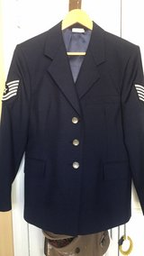 Women's AF Blues Service Coat in Wright-Patterson AFB, Ohio
