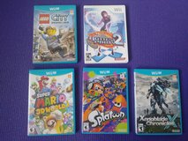 Nintendo Wii U Games (5 Games) in Bolingbrook, Illinois