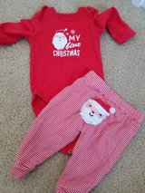 First Christmas Outfit size 6M in Fairfield, California