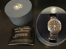 Citizen Titanium Eco-Drive watch in Yucca Valley, California