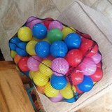 Fun plastic play balls in Alamogordo, New Mexico