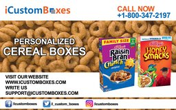 Custom Cereal Boxes Packaging in Cambridge, UK