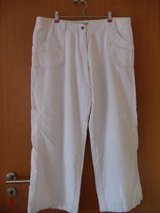 Linen trousers in Ramstein, Germany