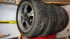 Tires with rims in Bartlett, Illinois