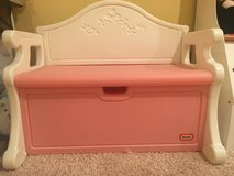 Little Tikes Pink Victorian Bench Toy Box in Shorewood, Illinois
