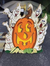 Pumpkin wood carving in Watertown, New York
