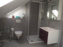 with AC!! 5 minutes to Panzer furnished 2BR apartment 10 minutes to Patch  SINDELFINGEN GOLDBERG in Stuttgart, GE