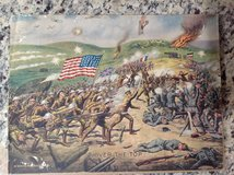 Vintage Print of 1918 E G Renesch Over The Top WW1 Military Poster Art in Macon, Georgia