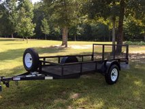 Mesh 5' X 10' Utility Trailer W/Spare Tire in Macon, Georgia